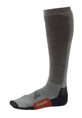 Simms Guide Midweight Sock - Gunmetal