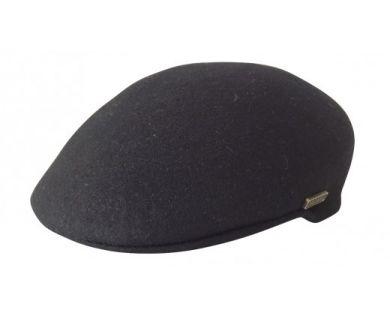 Jacaru Aston Driver Wool Cap - Black