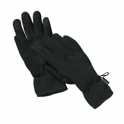 Patagonia Synchilla Fleece Gloves - Black