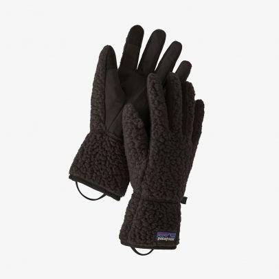 Patagonia Retro Pile Fleece Gloves - BLK