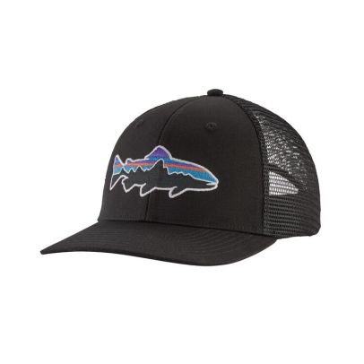 Patagonia Fitz Roy Trout Trucker Hat - BLK