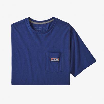 Patagonia M's Boardshort Label Pocket Responsibili-Tee® - SPRB