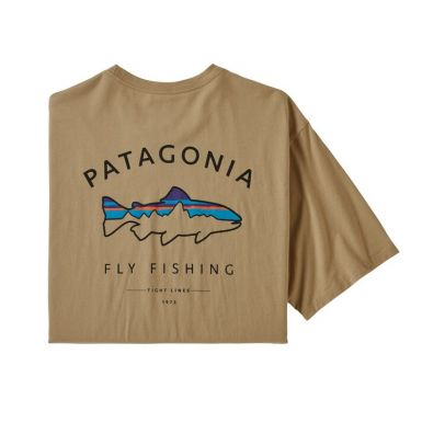 Patagonia M`s Framed Fitz Roy Trout Organic T-Shirt - CSC