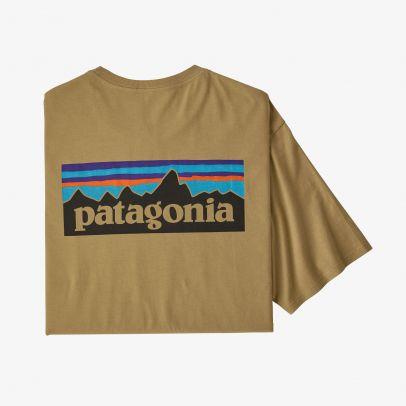 Patagonia M's P-6 Logo Organic Cotton T-Shirt - CSC