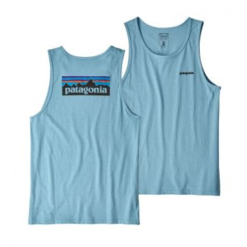 Patagonia M`s P-6 Logo Responsibili-Tee Tank - Break Up Blue