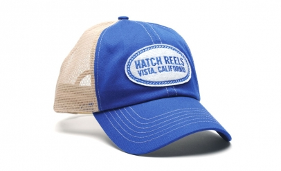 Hatch Vista Trucker - Royal Blue