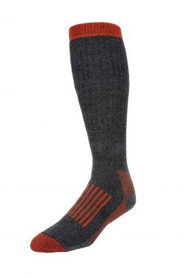 Simms Merino Thermal OTC Sock Carbon