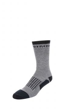 Simms Merino Midweight Hiker Sock Steel Grey