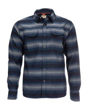 Simms Gallatin Flanel Shirt Atlantis Stripe