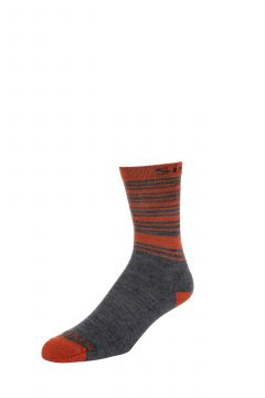 Simms Merino Lightweight Hiker Sock Carbon