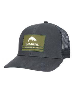 Simms Original Patch Trucker Carbon
