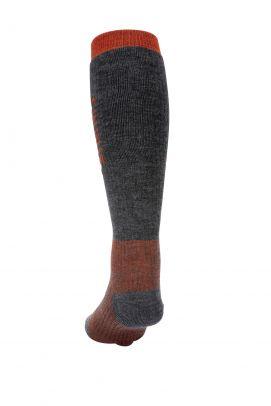 Simms Merino Midweight OTC Sock Carbon
