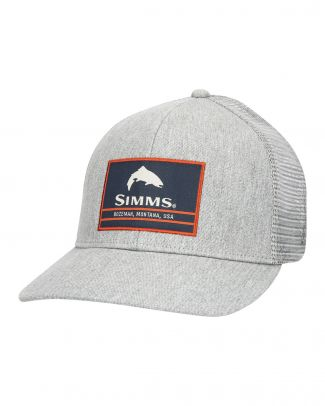 Simms Original Patch Trucker Heather Grey