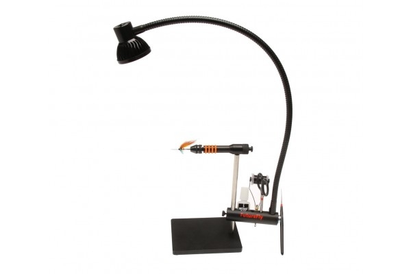 Led lamp with toolrack kymi fishing shop for Lampe salon fly