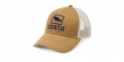 Costa Bass Trucker XL Working Brown