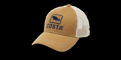 Costa Bass Trucker XL Working Brown