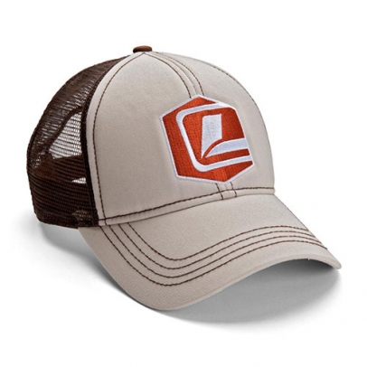 Loop Icon Snapback - Khaki/Brown