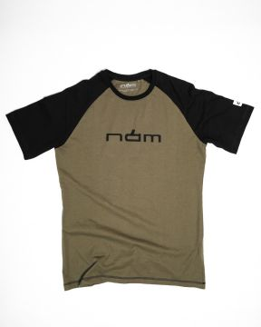 NAM Products T-Shirt Raglan Army
