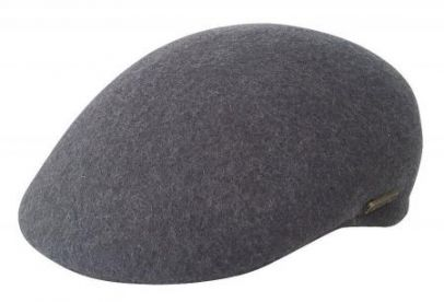 Jacaru Aston Driver Wool Cap - Grey