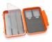 C&F Medium 2-Row WP Tube  Fly Case w 3 Comp (CF-2403V) Burnt Orange