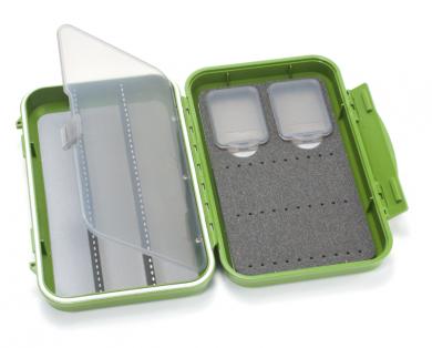 C&F Medium 2-Row WP Tube  Fly Case w 3 Comp (CF-2403V) Olive