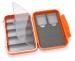 C&F Medium 2-Row WP Tube  Fly Case w 5 Comp (CF-2405H) Burnt Orange