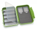 C&F Medium 2-Row WP Tube  Fly Case w 5 Comp (CF-2403V) Olive