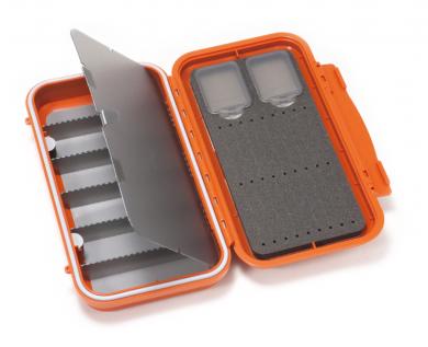C&F Large 3-Row WP Tube  Fly Case w 6 Comp (CF-3406H) Burnt Orange