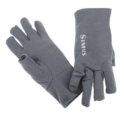 Simms Ultra-Wool Core 3-Finger Liner Carbon