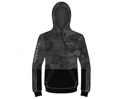Simms Challenger Hoody - Hex Flo Camo Carbon