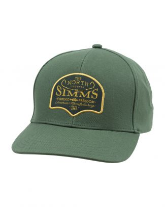 Simms Northbound Cap Evergreen
