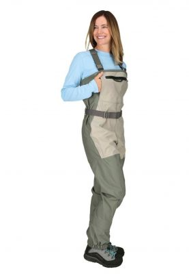 Simms Women's Freestone Stockingfoot Striker Grey