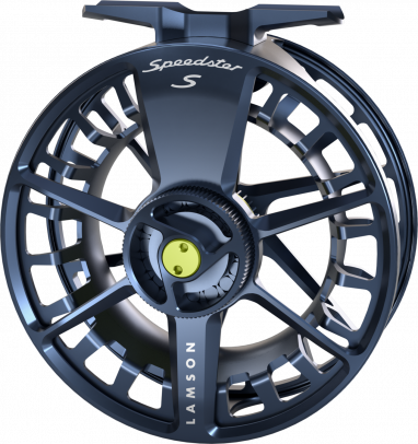 Lamson Speedster S-Series -9+ HD Reel Midnight