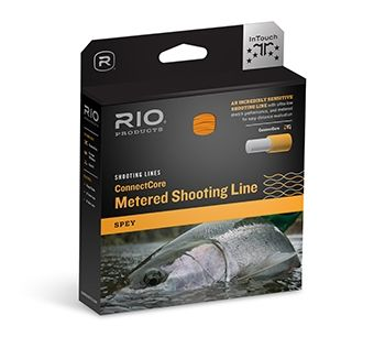 "RIO Connectcore Metered  Shooting Line 037""/ 0,94mm 30lb Orange/Blue"