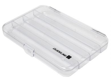 Guideline Slim Large Tube Fly Box - 4 compartment